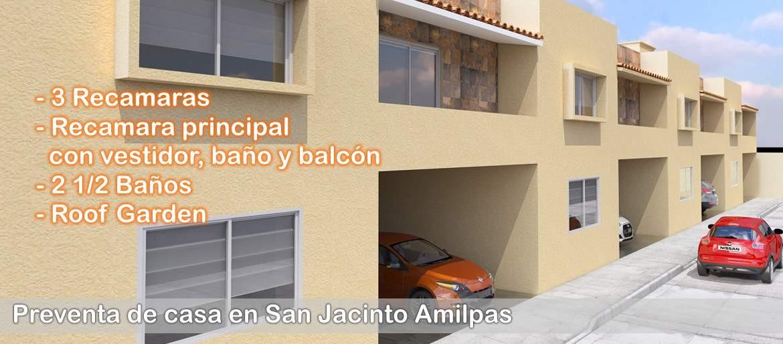 Venta de casas en San Jacinto Amilpas