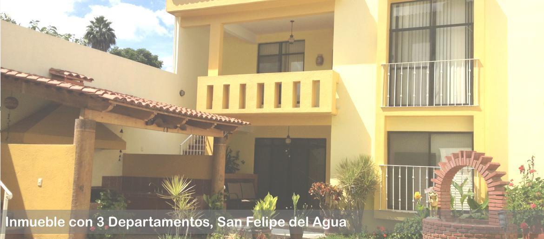 Venta de 3 departamentos San felipe del agua Oaxaca